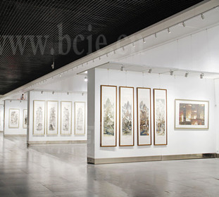 Qingzhou Chinese Painting Festival Exhibition Wall of Art Mu